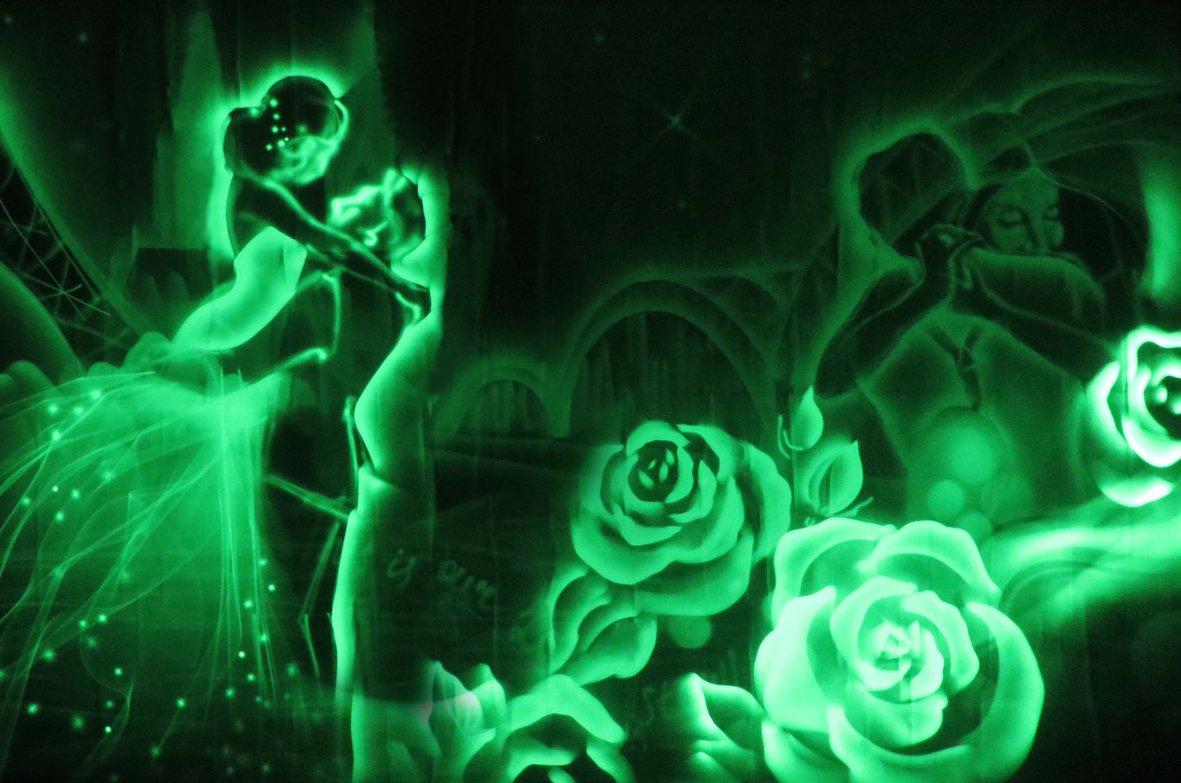 Хохлома шоу световых картин